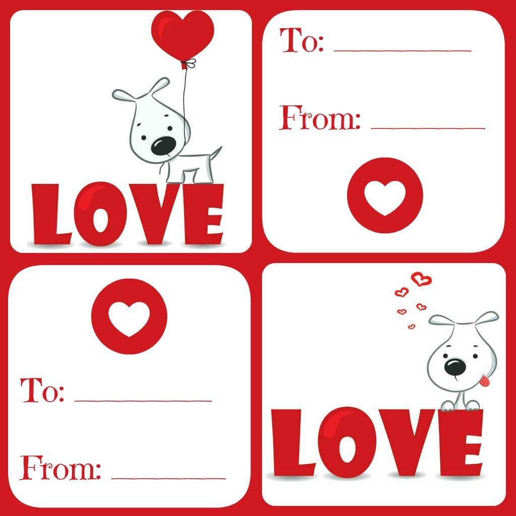 Free Valentines Card Printable For Kids - Daily Dish With with regard to Valentine Card Template For Kids