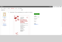 Free Valentine's Day Templates For Ms Office intended for Valentine Card Template Word