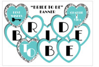 From Miss To Mrs Banner Template – Best Banner Design 2018 in Bridal Shower Banner Template