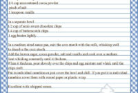 Full Page Recipe Templates – Google Search …   Printable with regard to Full Page Recipe Template For Word