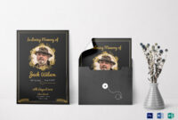 Funeral Invitation Card Template for Funeral Invitation Card Template