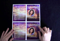 Funeral Memorial Cards With Regard To Memorial Cards For inside Memorial Cards For Funeral Template Free