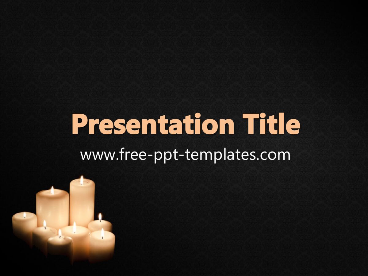Funeral Ppt Template With Regard To Funeral Powerpoint Templates