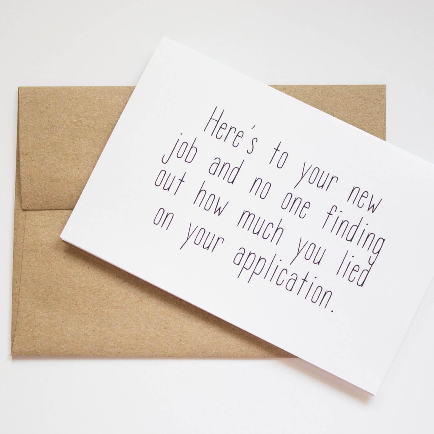 Funny New Job Card, Funny Leaving Cards, New Job Message intended for Sorry You Re Leaving Card Template