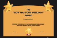 Funny Office Awards | Award Certificates, Employee Awards regarding Funny Certificates For Employees Templates