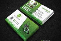 Garden Landscape Business Card Template | Download Here – Gr regarding Landscaping Business Card Template