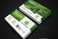 Garden Landscape Business Card Template | Fully Editable Tem inside Gardening Business Cards Templates