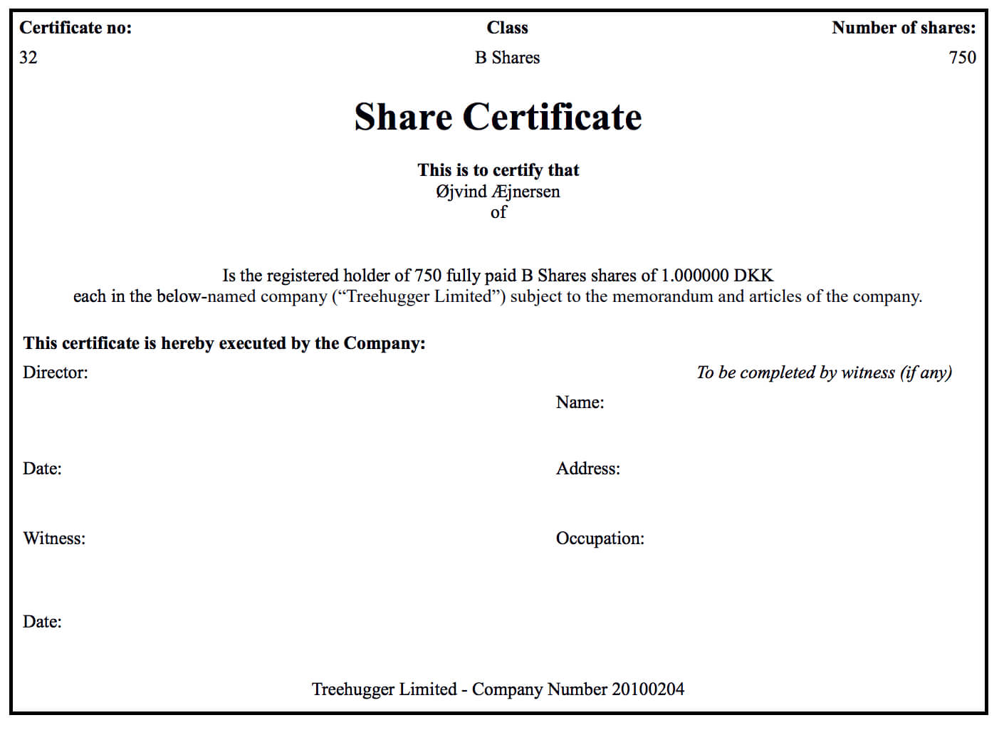 Generating Share Certificates On Capdesk Within Template Of Share Certificate