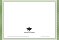 Generic Scholarship Certificate Template Free Download for Generic Certificate Template