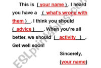Get Well Soon Card Template – Esl Worksheetcrystalhwang within Get Well Card Template