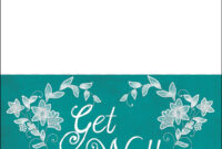 Get Well Soon Card Template | Free Printable Papercraft inside Get Well Card Template