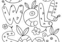 Get Well Soon Doodle Coloring Page   Free Printable Coloring throughout Get Well Soon Card Template
