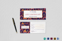 Gift Certificate Template Inside Gift Certificate Template Publisher