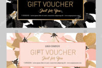 Gift Premium Certificate. Gift Card. Gift Voucher. Coupon in Black And White Gift Certificate Template Free