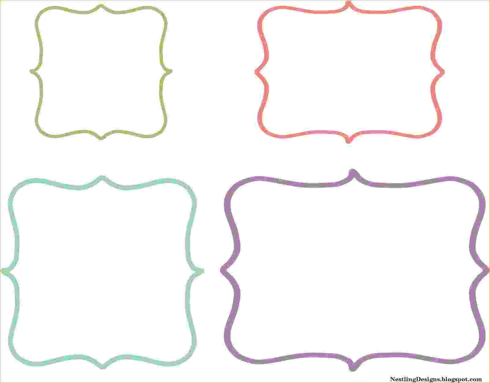 Gift Tag Label - Yupar.magdalene-Project in Free Gift Tag Templates For Word