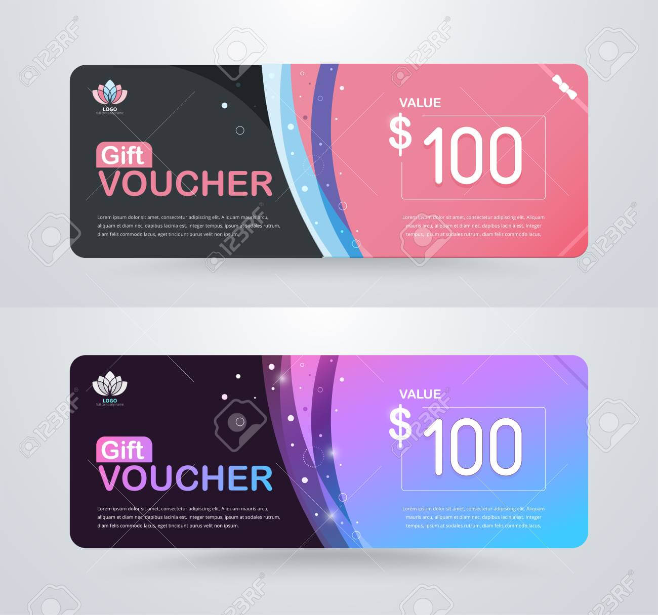 Gift Voucher Card Template Design. For Special Time, Best Of.. Throughout Credit Card Templates For Sale