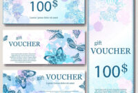 Gift Voucher Template With Mandala. Design Certificate For pertaining to Magazine Subscription Gift Certificate Template