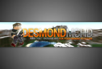 Gimp | Minecraft Youtube Banner Template [No Photoshop] regarding Gimp Youtube Banner Template