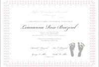 Girl Birth Certificate Template – Wovensheet.co throughout Girl Birth Certificate Template