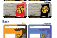 Gold Gym Membership Card with regard to Gym Membership Card Template