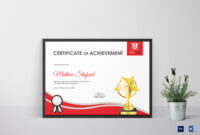 Golf Achievement Certificate Template for Golf Certificate Templates For Word