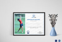 Golf Excellence Certificate Template with regard to Golf Certificate Templates For Word