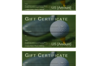 Golf Gift Certificate – Download This Free Printable Golf In Golf Gift Certificate Template
