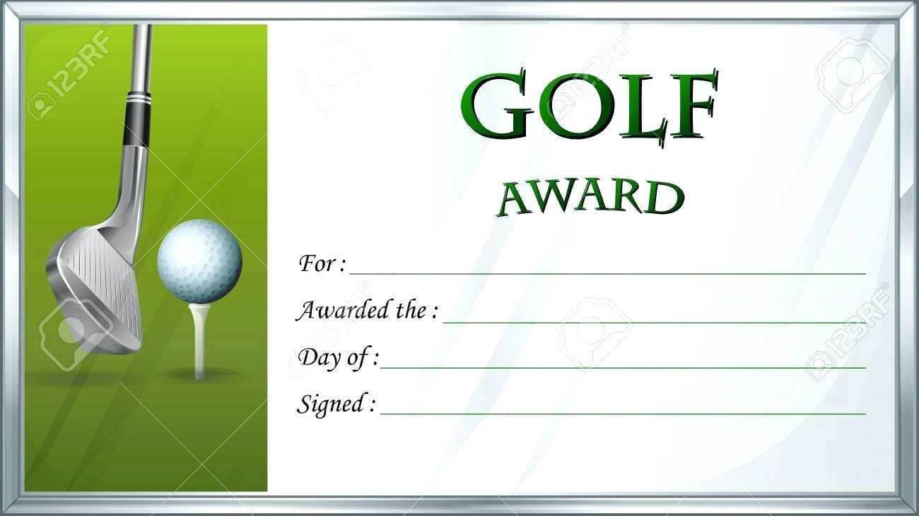 Golf Gift Certificate Template Basic Free Gift Certificate Regarding Golf Gift Certificate Template