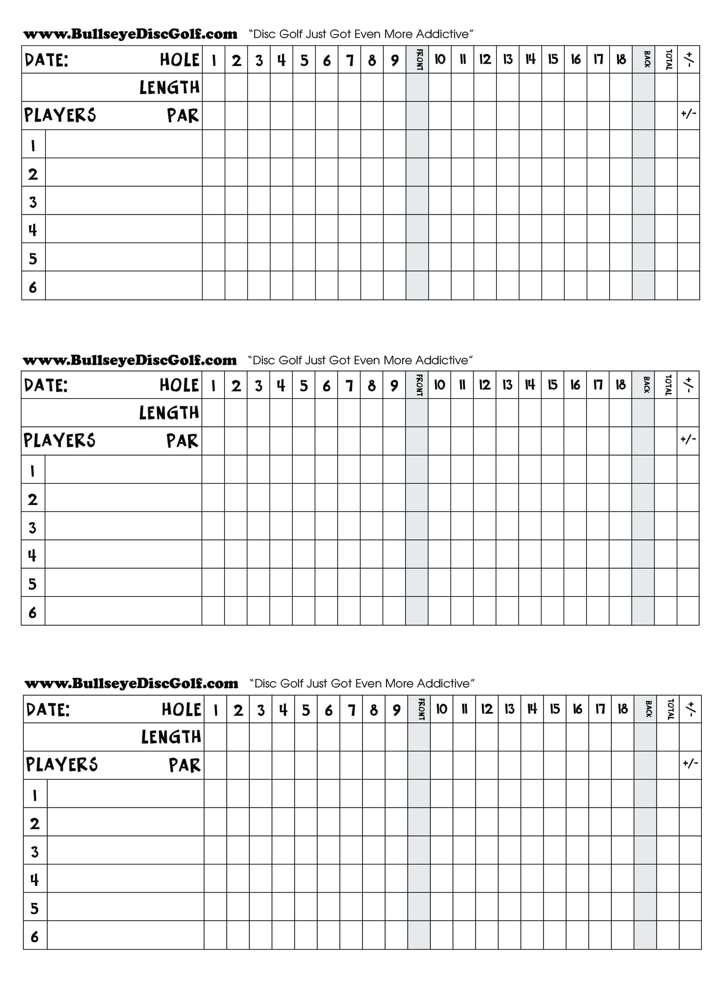 Golf Scorecard - How To Create A Golf Scorecard? Download within Golf Score Cards Template