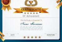 Graceful Certificate Template in Qualification Certificate Template