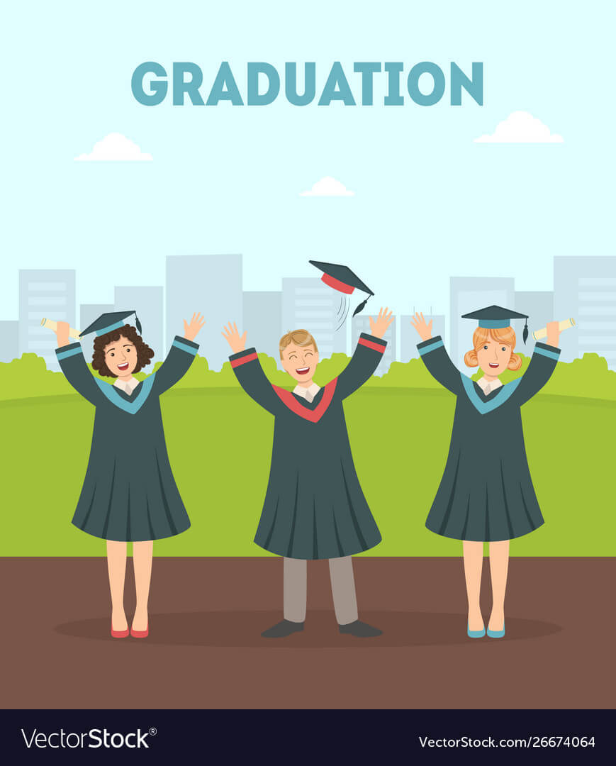 Graduation Banner Template Happy Graduate with regard to Graduation Banner Template