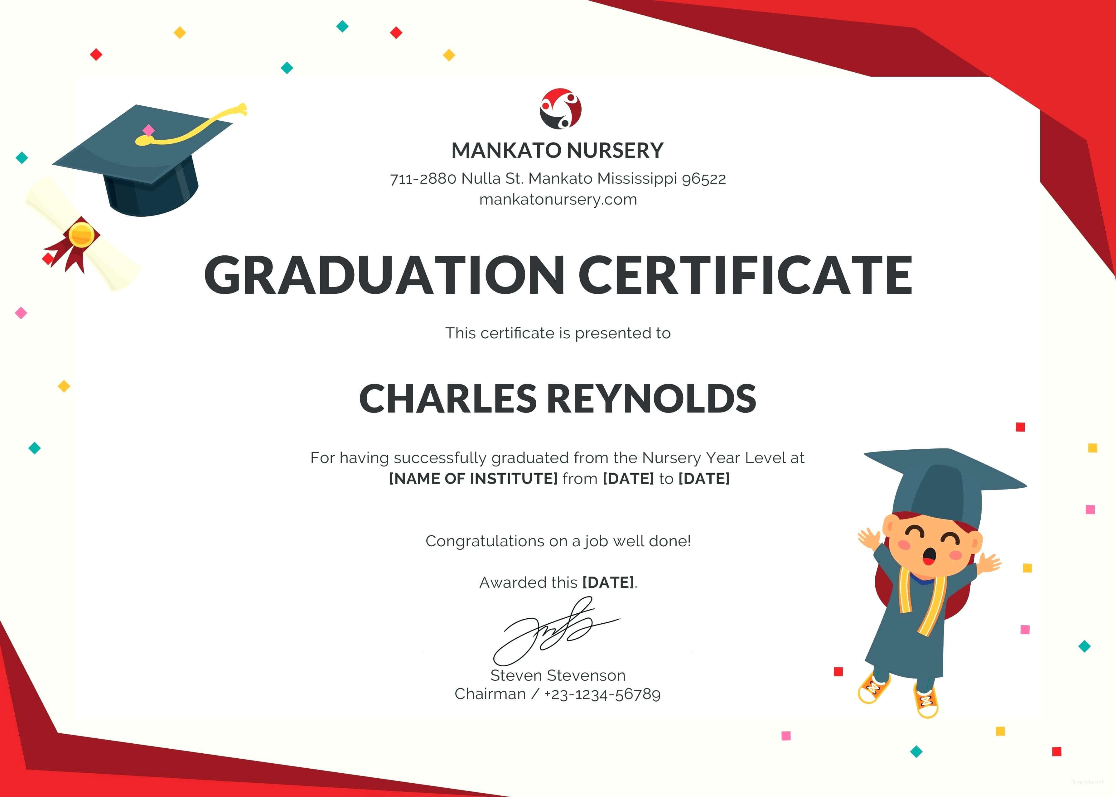 Graduation Certificate Template Word – Wovensheet.co throughout Graduation Certificate Template Word