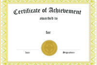 Graduation Certificate Template Word – Wovensheet.co with regard to Scholarship Certificate Template Word