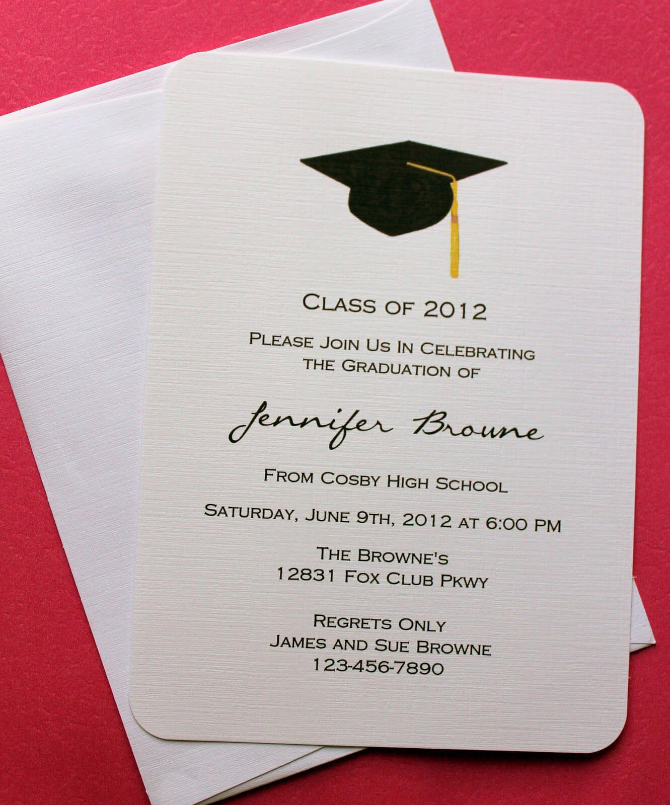 Graduation Invitation Templates Microsoft Word | Graduation Throughout Graduation Invitation Templates Microsoft Word