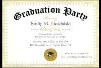 Graduation Party Invitation Templates Free Word intended for Graduation Party Invitation Templates Free Word