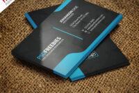 Graphic Designer Business Card Template Free Psd regarding Visiting Card Templates Download