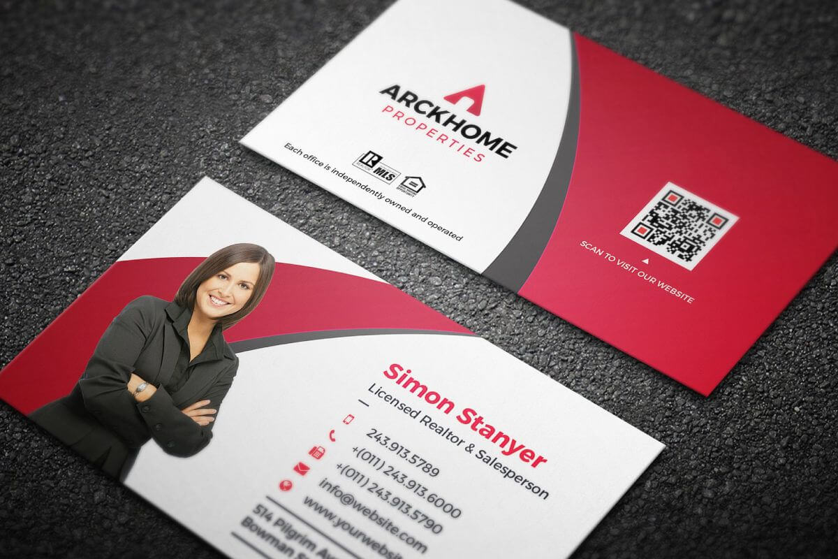 Graphicdepot Website intended for Real Estate Business Cards Templates Free