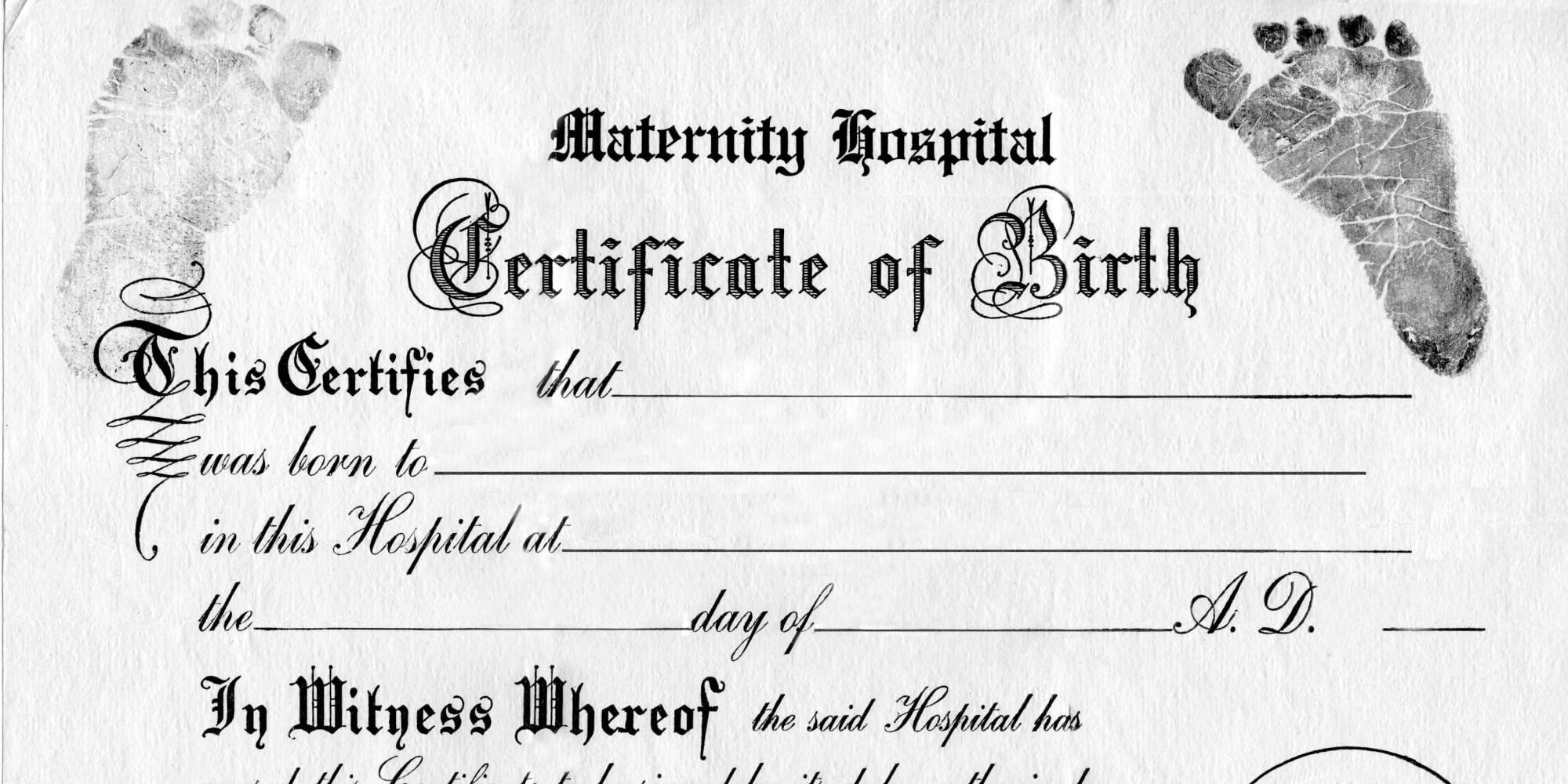Great For Teddy Bear And Baby Doll Birth Certificates Free within Editable Birth Certificate Template