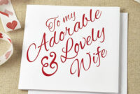 Greeting Card. Adorable Wedding Anniversary Card Template pertaining to Template For Anniversary Card