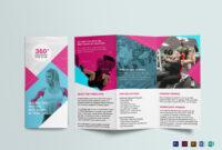 Gym Tri-Fold Brochure Template inside Tri Fold Brochure Publisher Template