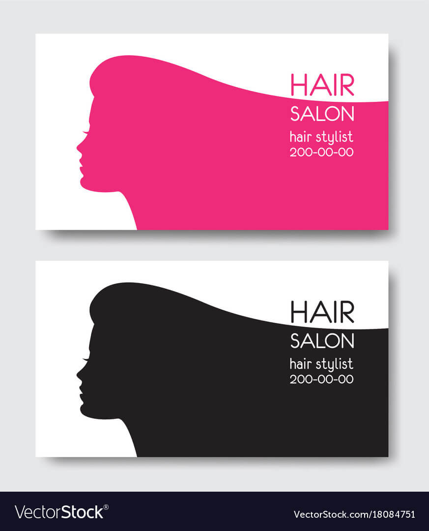Hair Salon Business Card Templates With Beautiful Template within Hairdresser Business Card Templates Free