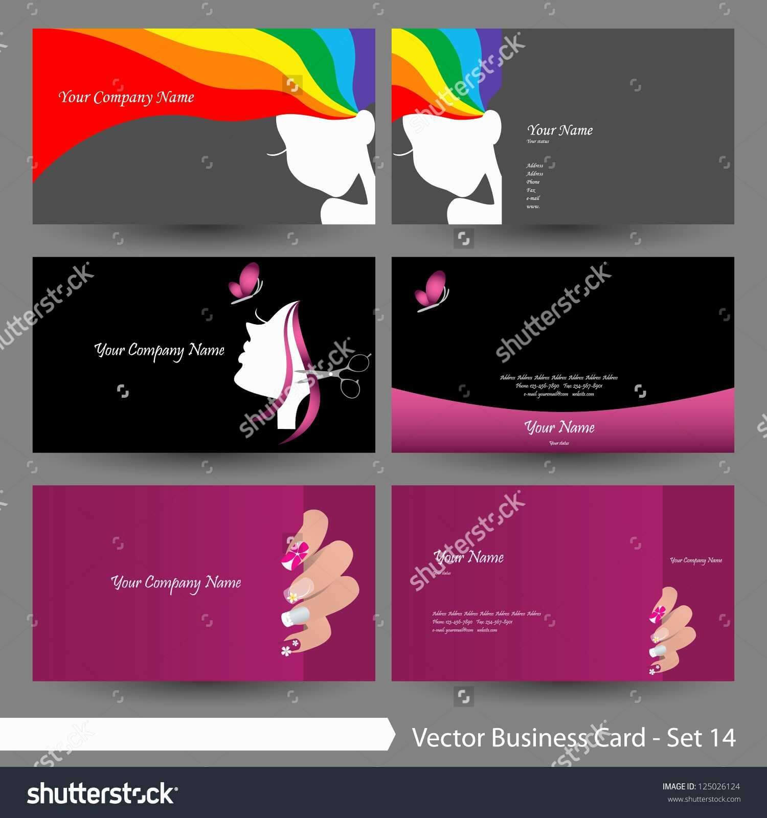 Hair Stylist Business Cards Templates Free - Raovathanoi with Hairdresser Business Card Templates Free