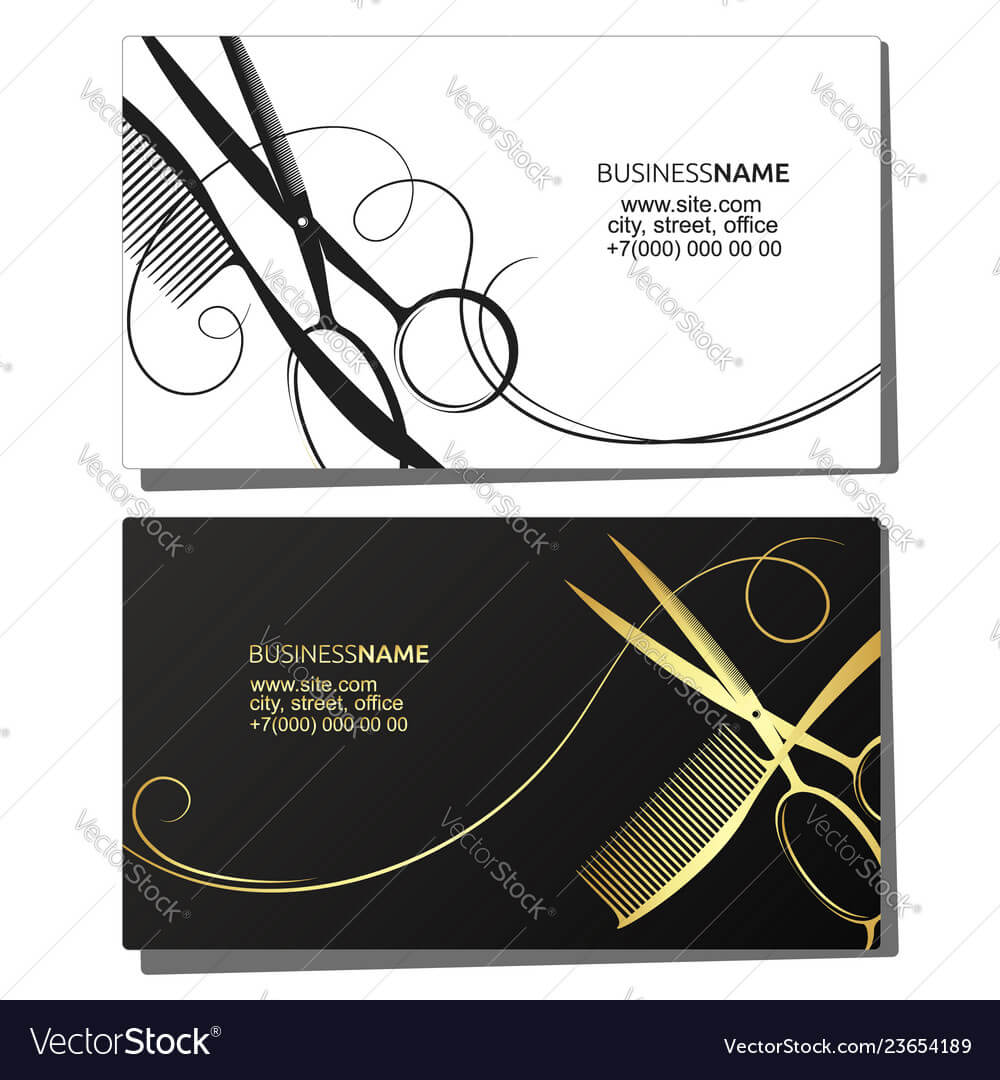 Hairdressers Business Cards Designs Letters Nail Salon Card regarding Hairdresser Business Card Templates Free