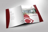 Half Fold Brochure Template For Design Company Marketing regarding Half Page Brochure Template