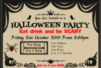 Halloween Certificate & Award Templates At in Halloween Certificate Template