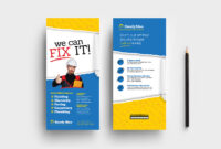 Handyman Dl Rack Card Template In Psd, Ai & Vector – Brandpacks Regarding Dl Card Template