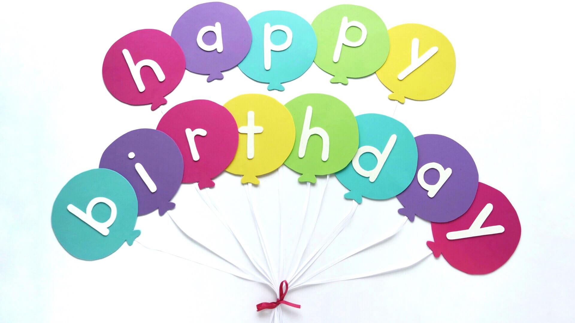 Happy Birthday Banner Diy Template | Balloon Birthday Banner Regarding Free Happy Birthday Banner Templates Download
