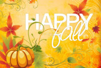 Happy Fall Powerpoint Template | Fall Thanksgiving Powerpoints inside Free Fall Powerpoint Templates