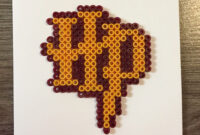 Harry Potter Blank Card Hama Beadspandkcraft | Harry intended for Blank Perler Bead Template
