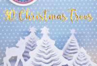 Hattifant's 3D Paper Christmas Trees – Hattifant pertaining to 3D Christmas Tree Card Template